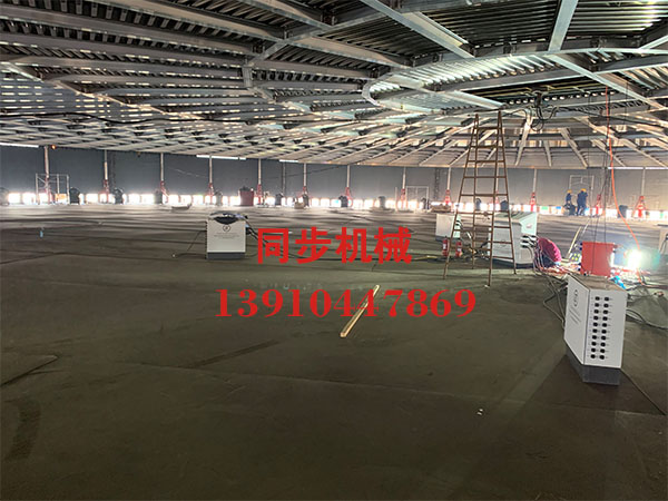 十四化建1400吨5万m³低温罐施工现场