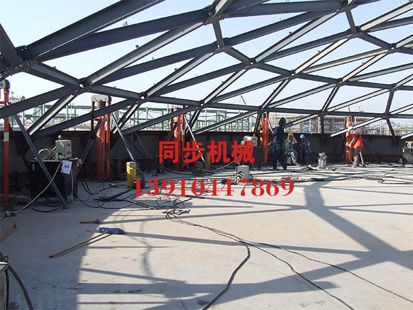 中国化学工程七建公司沙特施工现场