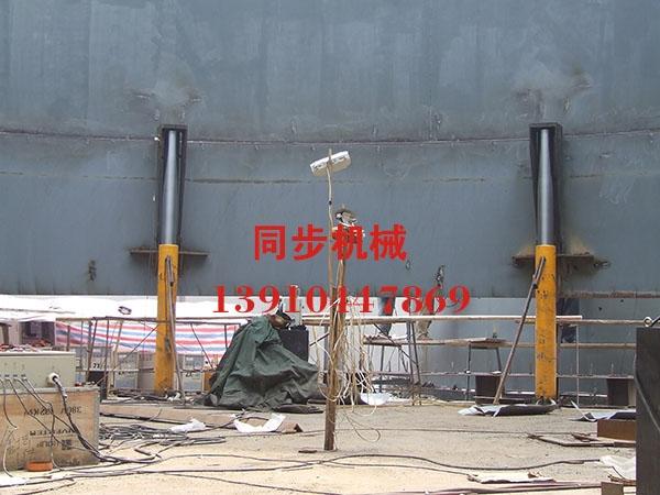 沈阳工业安装公司顶升机现场图片