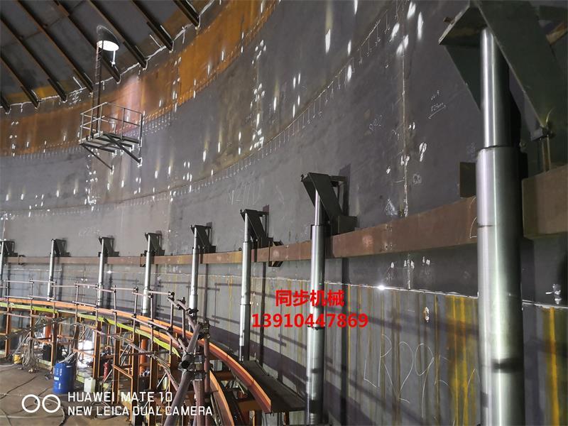 台湾罗吉司5万m³低温罐高雄施工现场